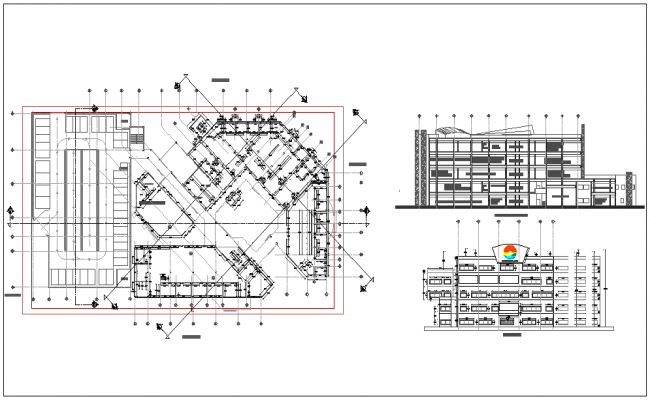 City hall detail