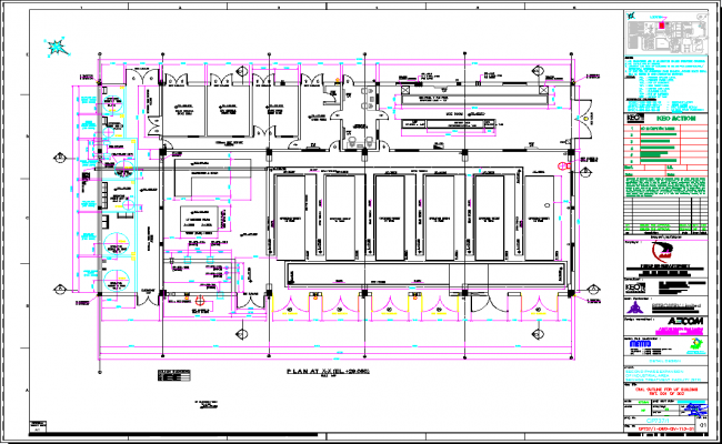 Civil Outline Drawing For Building project