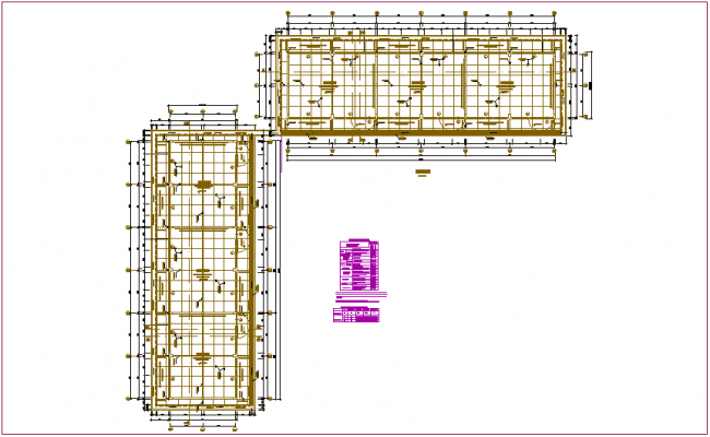 Classroom plan with door and window detail dwg file