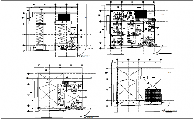 Clinic floor plan view with architectural view dwg file