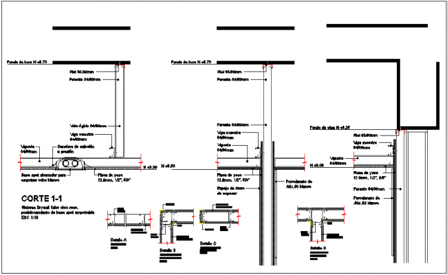 Clinic hospital plan and design plan layout view detail dwg file