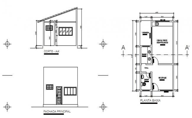 Clinic Layout Plan In AutoCAD File