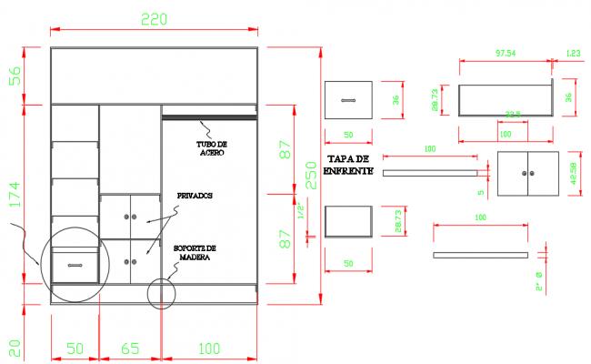 Closet 3d Dwg file