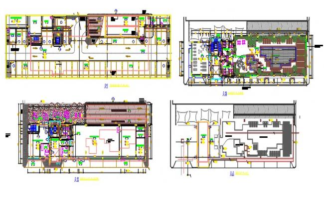 Club house floor plans