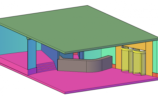 Clubhouse 3 D plan detail