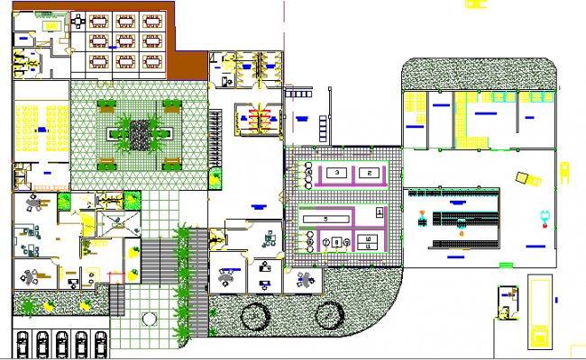 Coconut Water Packaging Plant Structure Details dwg file