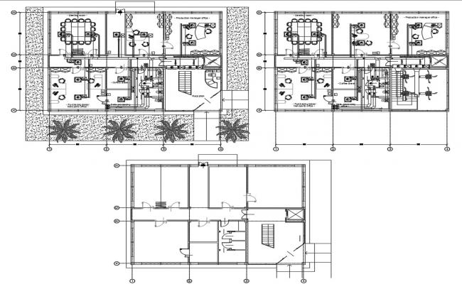 Coffee Production Office Plan