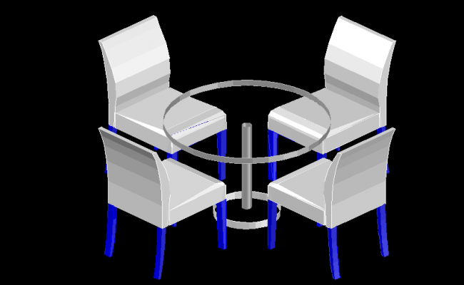 Coffee table and chair design