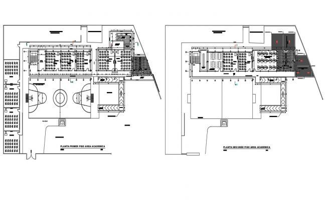 College Building Design Plan