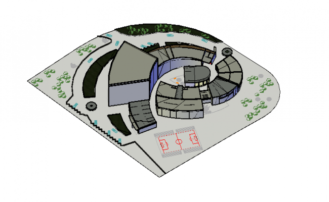 College Design 3d file
