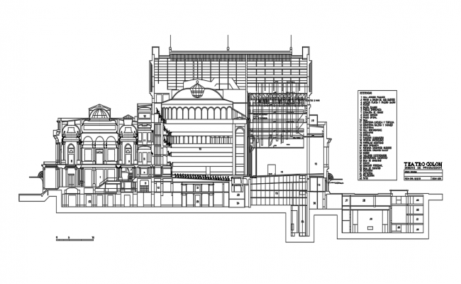Colon theater- argentina Dwg file