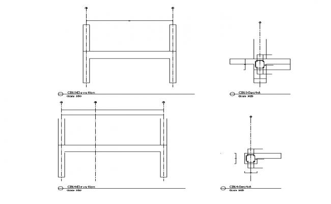Column & Beam Section Detail