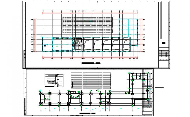 Column & Beam Structure Detail