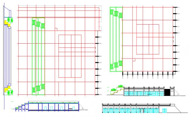 Column & Structure Detail & Elevation Design