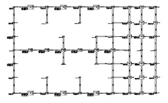 Column Design In AutoCAD File