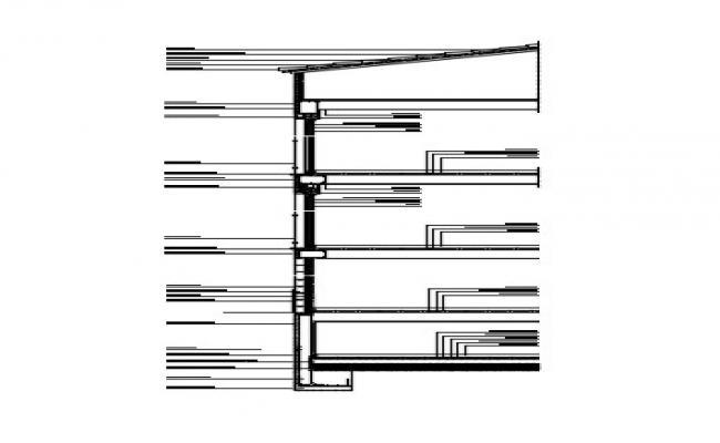 Column Footing Plan In DWG File
