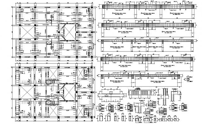 Column and Beam RCC Structure Design