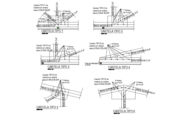 Column joint section detail dwg file