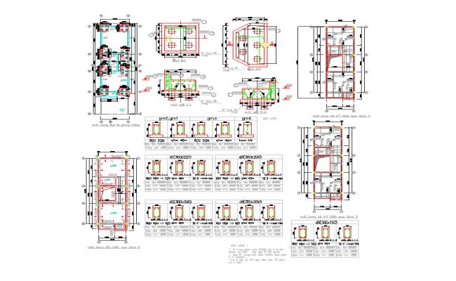 Column reinforcement design