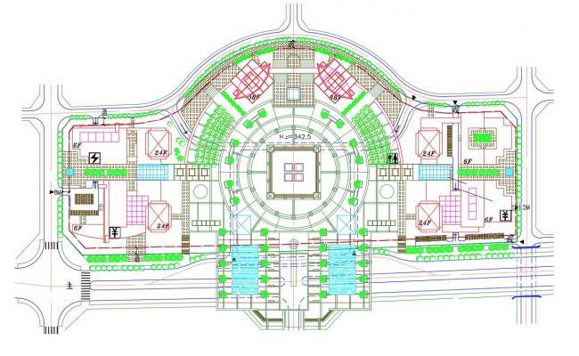 Commerce Area Design Landscape Plan