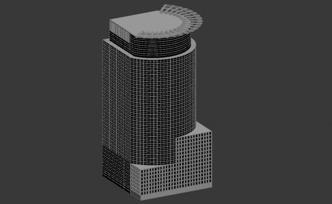Commerce Building 3d max File Free download