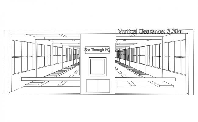 Commercial 3D View  CAD File Free Download