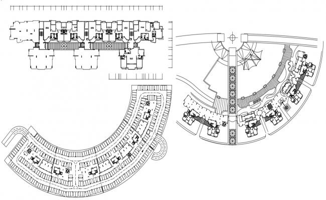 Commercial And Residential Of Apartment AutoCAD File Download
