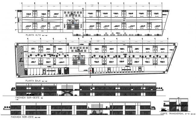 Commercial Building Architectural Plans