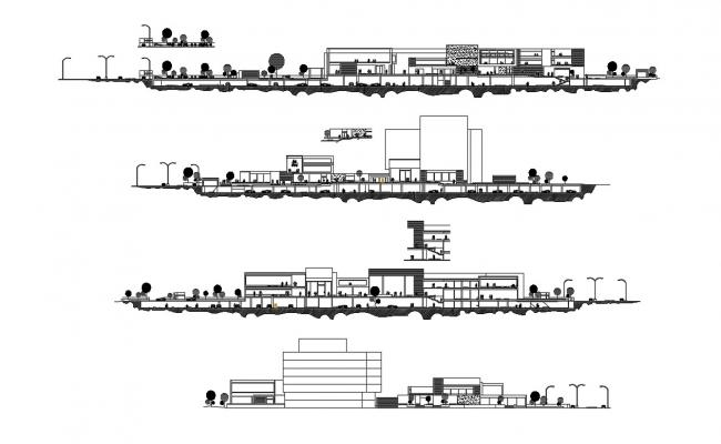 Commercial Building AutoCAD Drawings