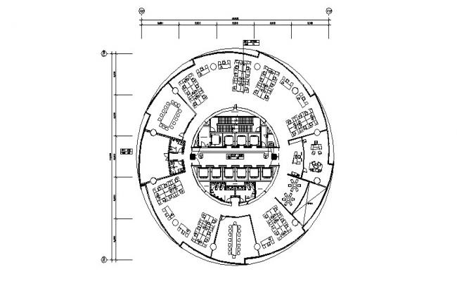 Commercial Building AutoCAD Plan