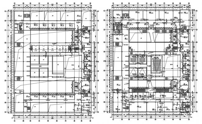 Commercial Building Design Architecture Plan