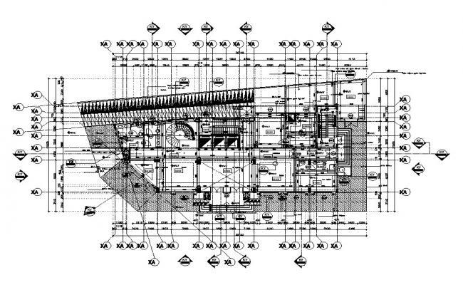 Commercial Building Design CAD File Download