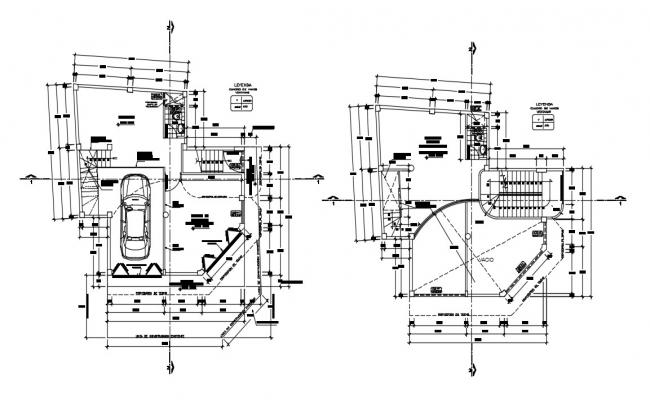 Commercial Building Floor Plan In AutoCAD Drawings