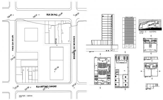 Commercial Building Floor Plan