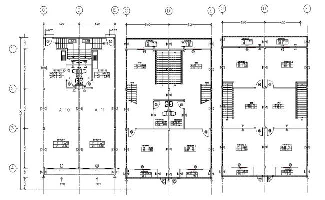 Commercial Building Floor Plan With Working AutoCAD File