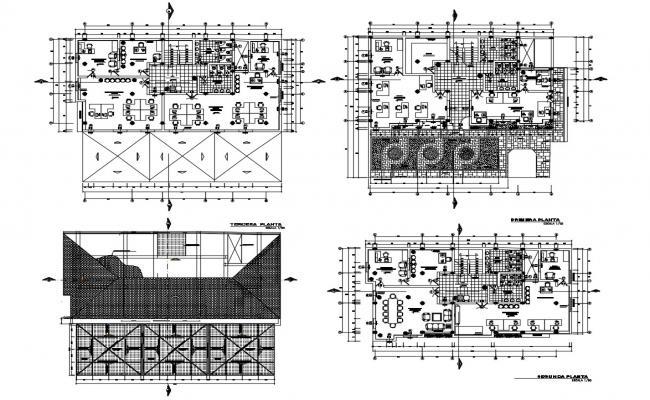 Commercial Building Floor plan Download
