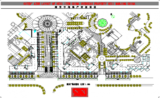 Commercial Building Lay-out plan