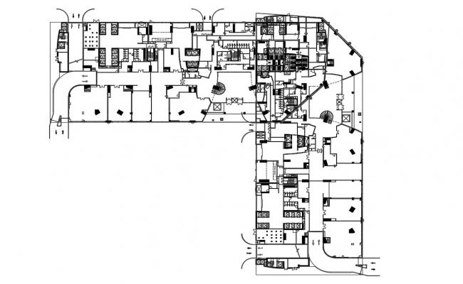 Commercial Building Layout Plans