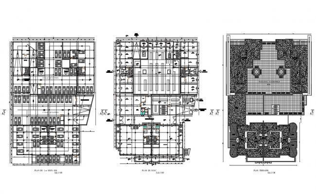 Commercial Building Parking Plan