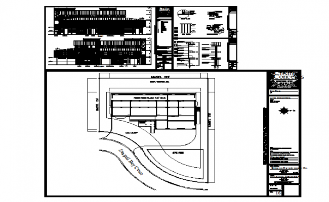 Commercial Building detail DWG file