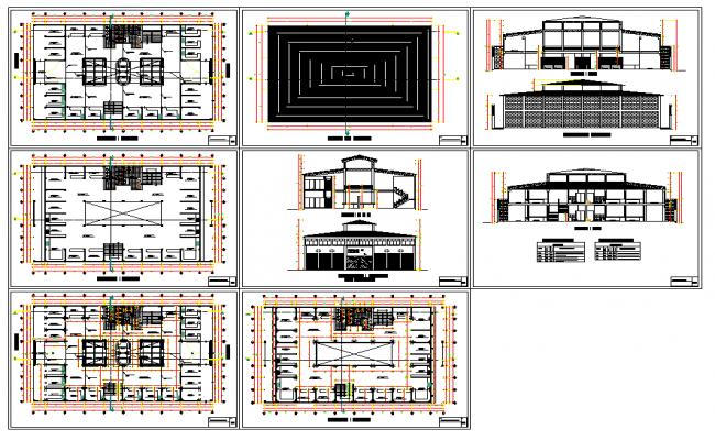 Commercial Complex Building Project Detail