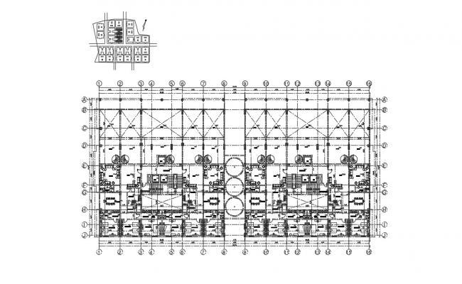 Commercial Floor Plan Design DWG File Free Download