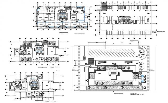 Commercial Office Building AutoCAD File