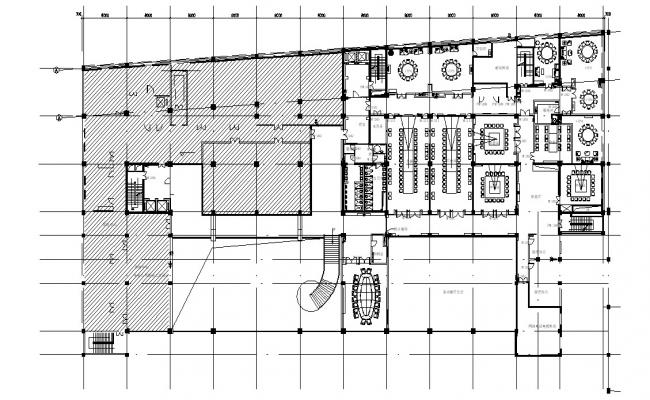 Commercial Office Building Plan Dwg file