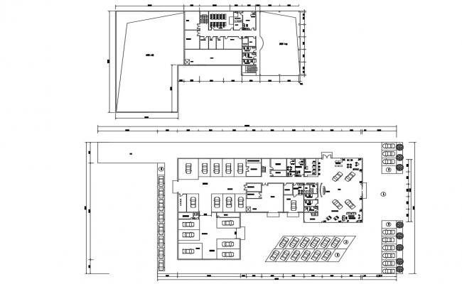 Commercial Office Layout Design Plan