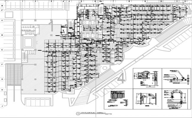 Commercial building Firefighting layout