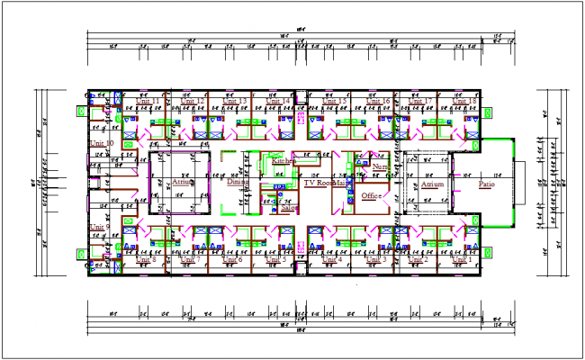 Small Commercial Office Building Plans Commercial Building: Commercial Building Plan Layout Details Dwg File