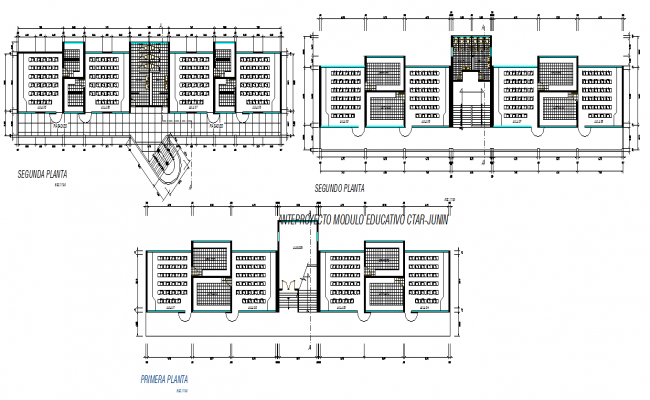 Commercial building plan layout plan detail dwg file