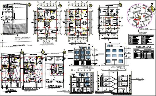 Commercial cum residential dwg.