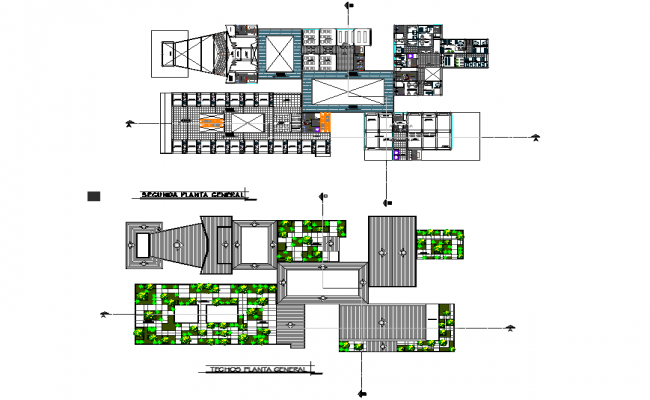 Commercial office plan dwg file